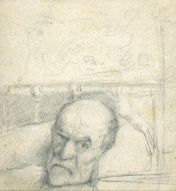 КОСТАНДИ К. К. Автопортрет. 1921