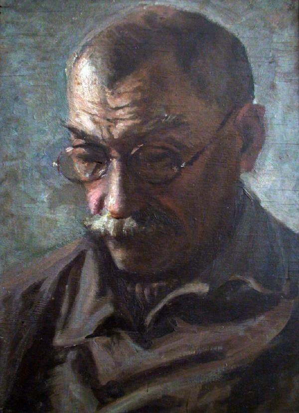 КРИХАЦКИЙ В.Г. Автопортрет. 1925
