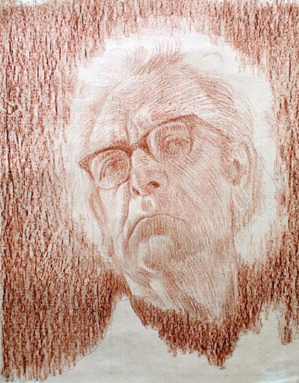 ЛАДЫЖЕНСКИЙ Е. Б. Автопортрет. 1981