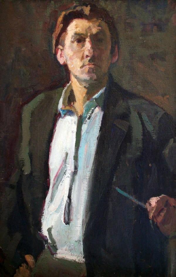 ТОКАРЕВ А. П. Автопортрет. 1951