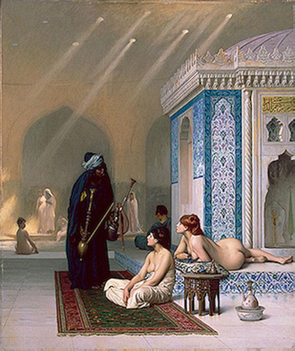 ЖАН-ЛЕОН ЖЕРОМ Бассейн в гареме. Около 1876