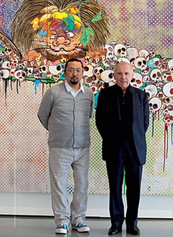 Такаси Мураками и Франсуа Пино