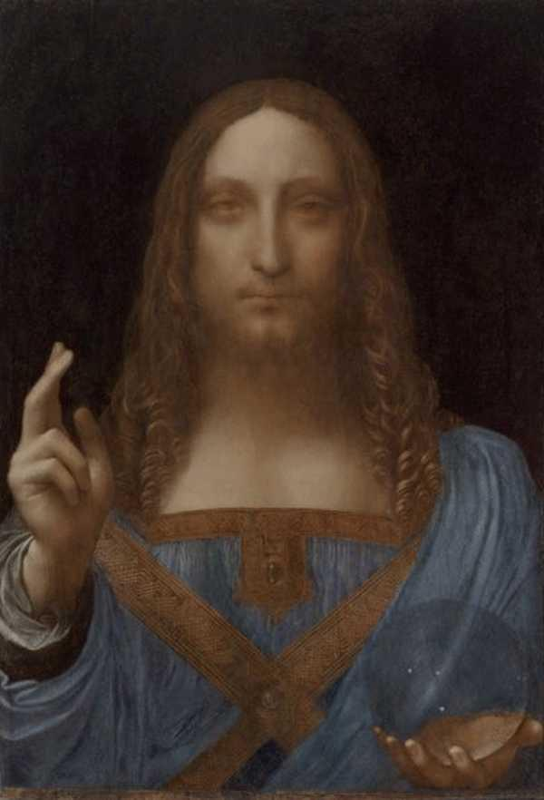 ЛЕОНАРДО ДА ВИНЧИ Спаситель мира. 1499 или позднее
