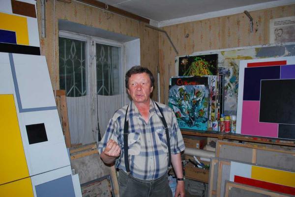 В московской мастерской Виктора Казарина