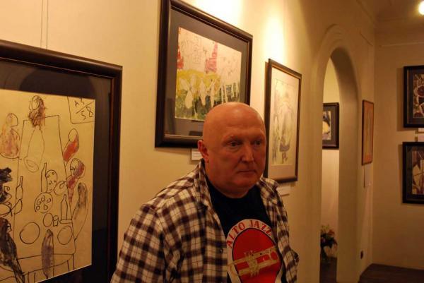 Валерий Силаев на выставке «По прозвищу Зверь»