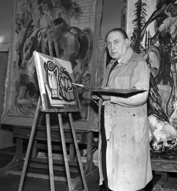 Эмиль Филла в 1951 году