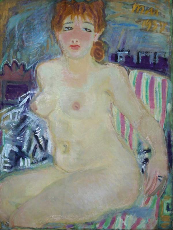 ТАТЬЯНА МАВРИНА Портрет Алисы. 1937