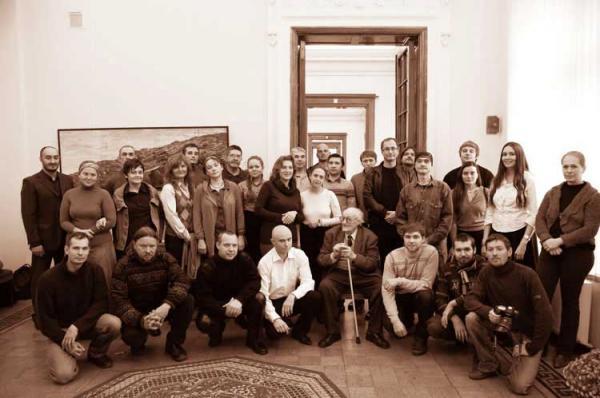 В. Е. Цигаль и ученики его мастерской