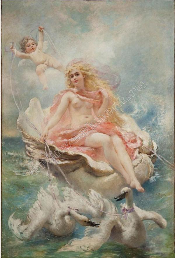 МАКОВСКИЙ К. Е. Богиня вод. 2-я половина 1880-х