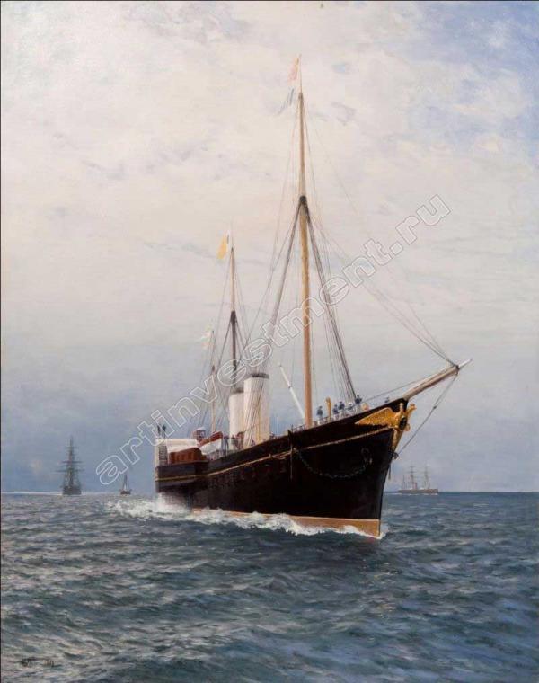 Лагорио Л.Ф. Императорская яхта «Держава». 1886