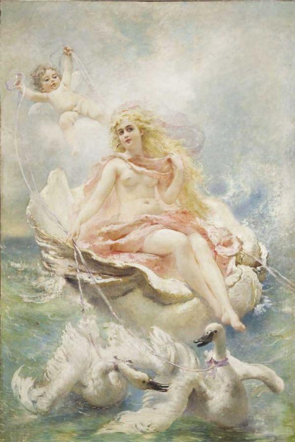 Маковский К.Е. Богиня вод. 2-я половина 1880-х