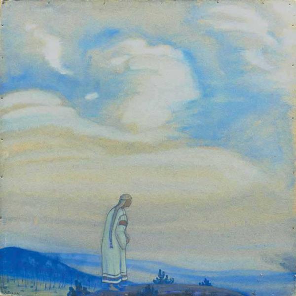 Рерих Н.К. У рубежа (Ушли на рубеж). 1915