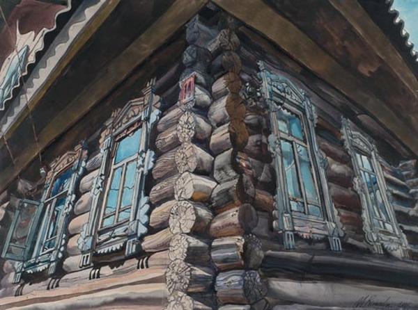 РОМАДИН М. Н. Наш дом в деревне. 2001