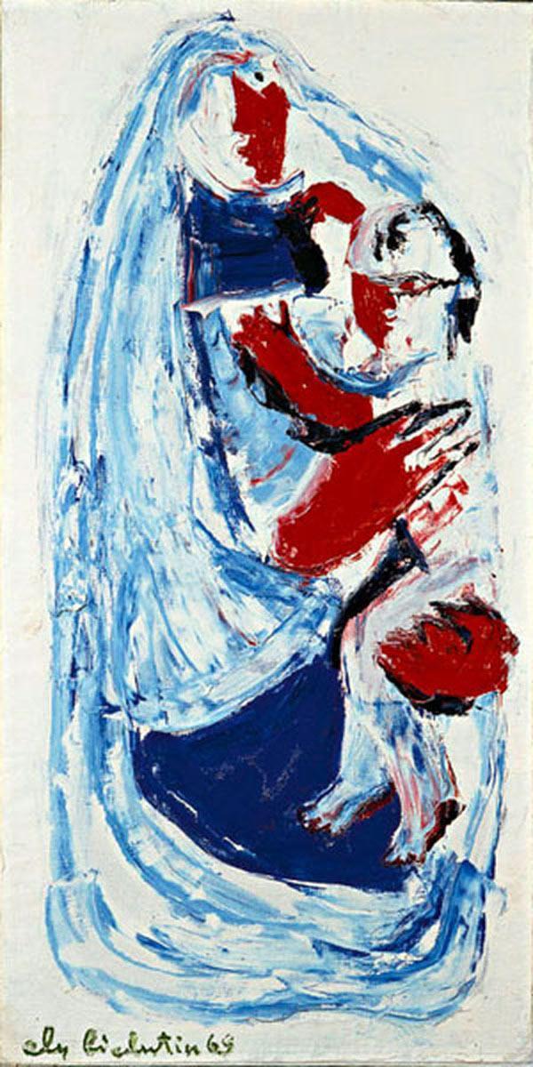 ЭЛИЙ БЕЛЮТИН (БИЛЮТИН) Симвология материнства. 1969
