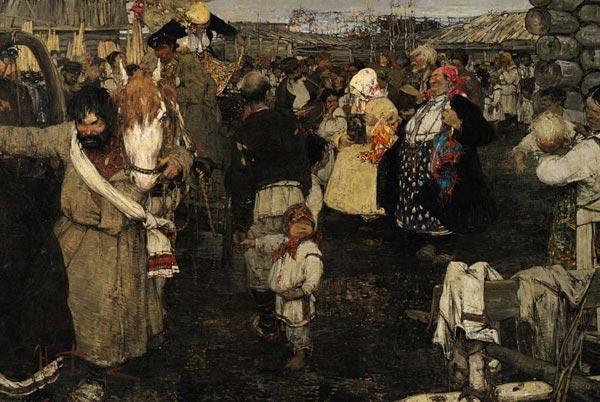 НИКОЛАЙ ФЕШИН Черемисская свадьба. 1908