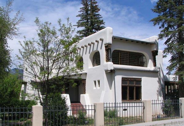 Дом Николая Фешина в Таосе, штат Нью-Мексико