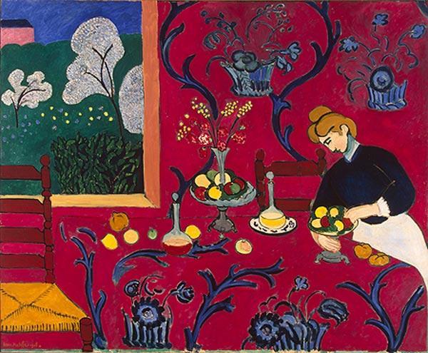АНРИ МАТИСС    Красная комната. 1908