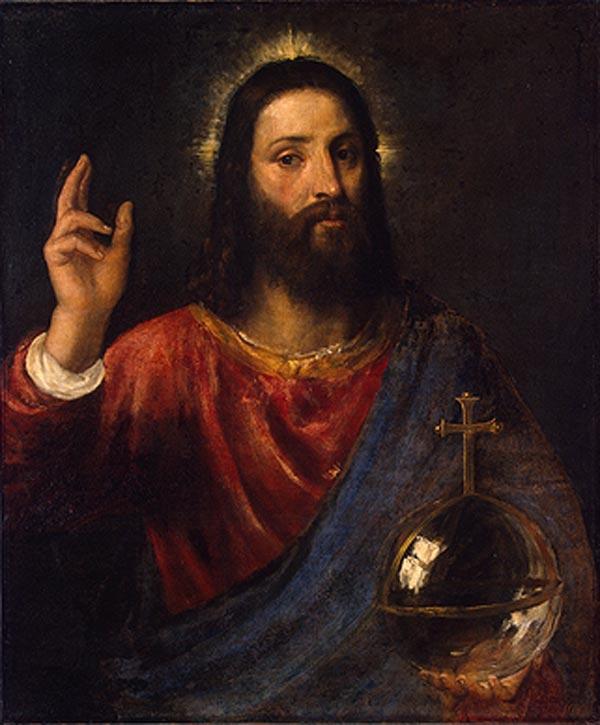 ТИЦИАН Христос-вседержитель. 1570-е