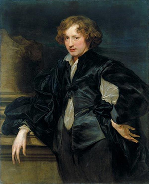 АНТОНИС ВАН ДЕЙК    Автопортрет. 1622–1623