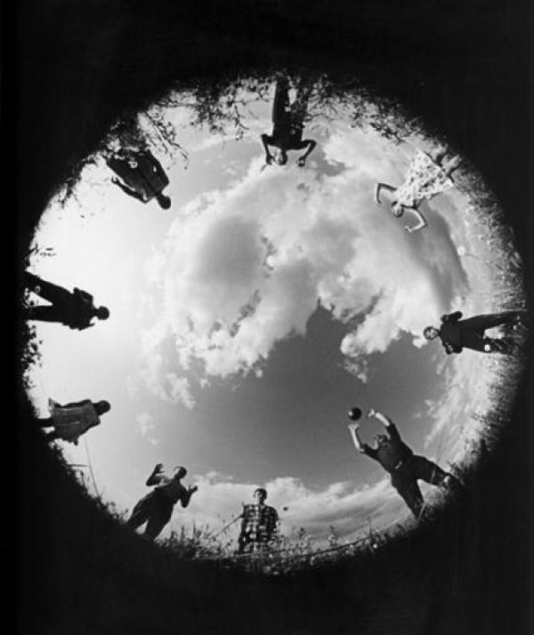 ЛЕВ БОРОДУЛИН Мы играем в волейбол. 1965