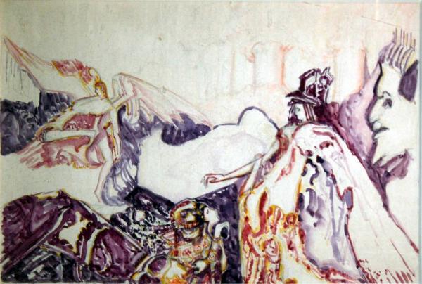 ВАСИЛИЙ ДЕНИСОВ Ангел. 1910-е