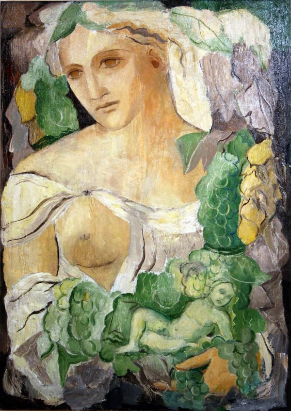 МАРИЯ ЛАГОРИО Богиня плодородия Кибела. 1936