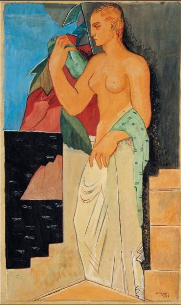 МАРИЯ ЛАГОРИО Персонаж. 1927