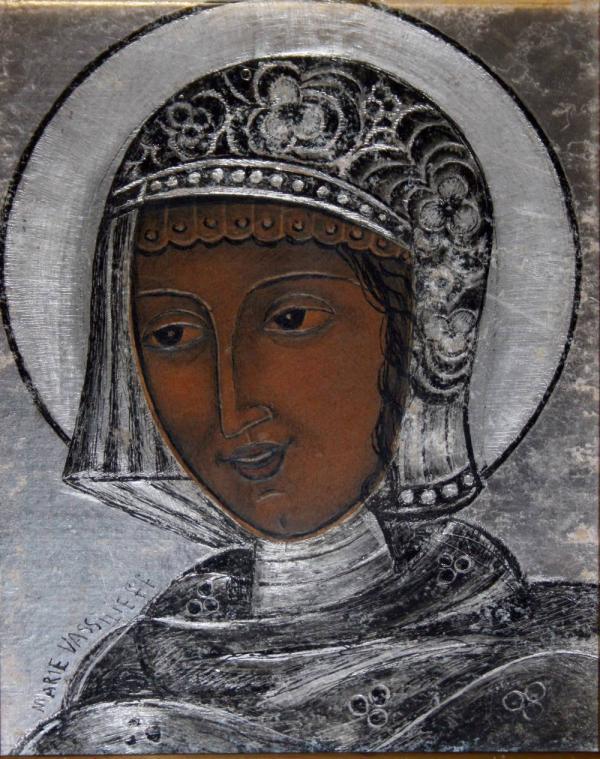 МАРИЯ ВАСИЛЬЕВА Святой. 1930-е