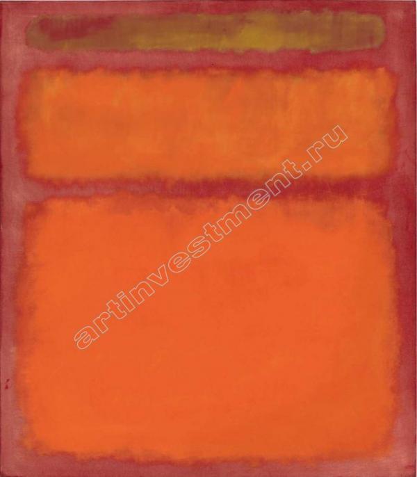 МАРК РОТКО Оранжевое, красное, черное. 1961
