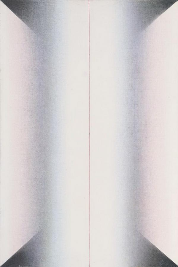 ОЛЕГ ВАСИЛЬЕВ Вертикальная композиция. 2002