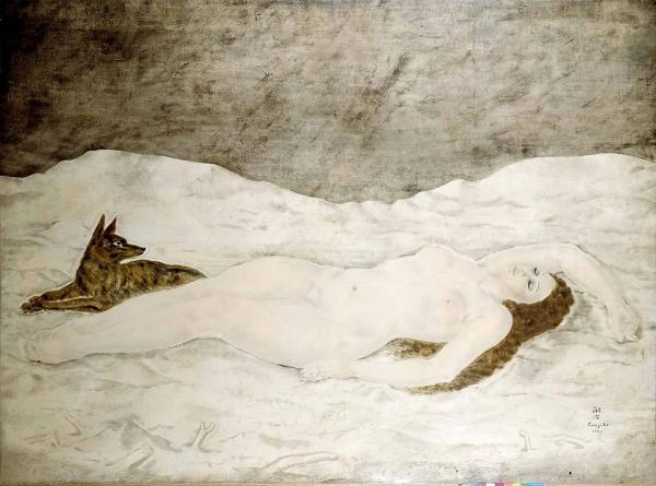 ЛЕОНАР ФУЖИТА Юки, богиня снега, 1924