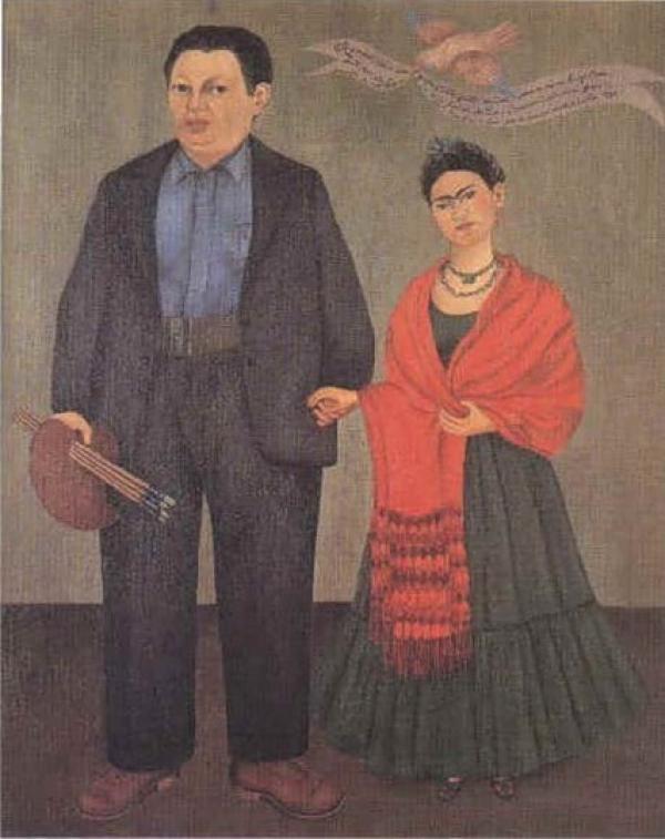 ФРИДА КАЛО Фрида и Диего Ривера. 1931