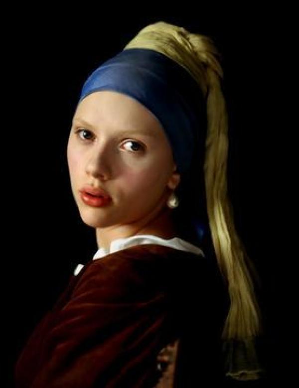 Кадр из фильма «Девушка с жемчужной сережкой» (П. Веббер, 2003)