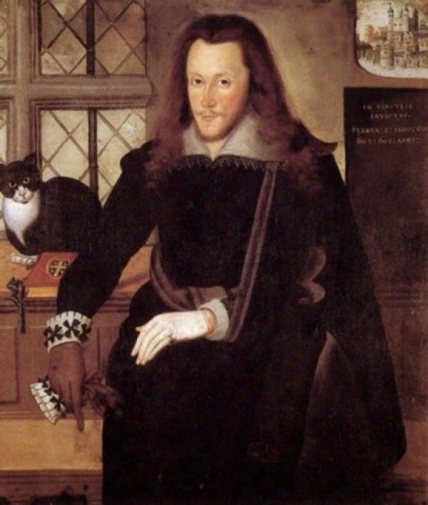 ДЖОН ДЕ КРИТС Портрет Генри Ризли, 3-го графа Саутгемптона во время заключения в Тауэре, 1603