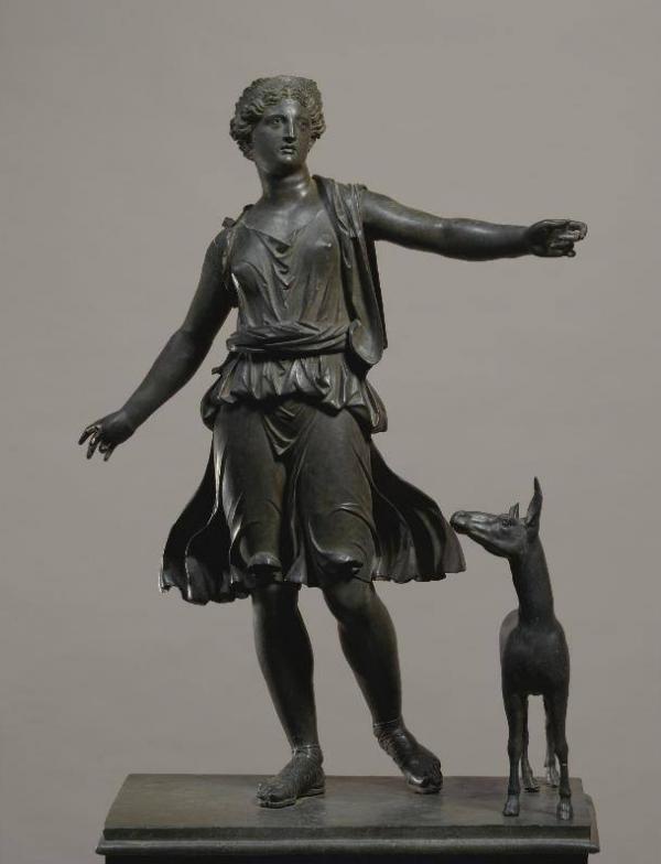 Неизвестный автор. Артемида с ланью. I век до н. э. — I век н. э.