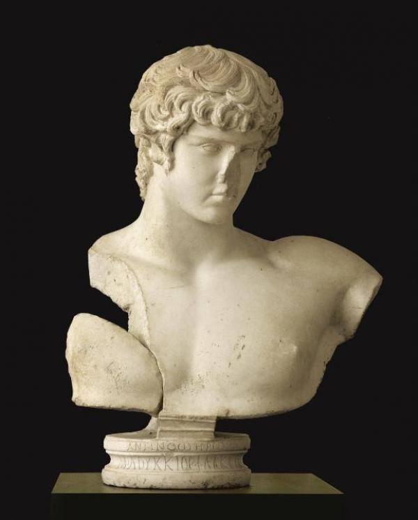 Неизвестный автор. Бюст Антиноя. Римская империя, эпоха Адриана. 130–138 гг. н.э.