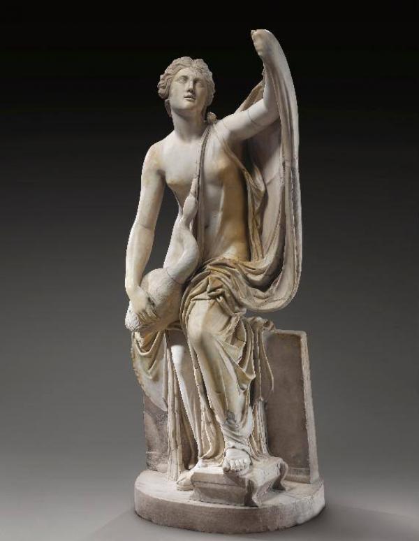 Неизвестный автор. Леда и Лебедь. Римская империя, около II в. н.э.