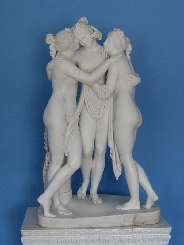 АНТОНИО КАНОВА Три грации (версия графа Бедфорда). 1814–1817