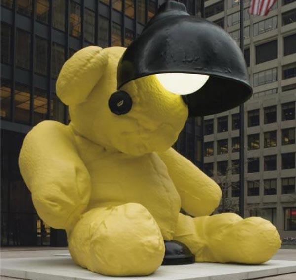 УРС ФИШЕР Без названия (Лампа «Медведь»). 2005–2006