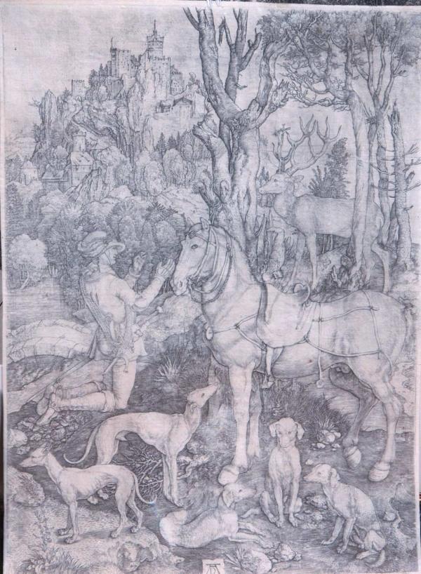ДЮРЕР Альбрехт (1471–1528)  Святой Евстахий. 1501