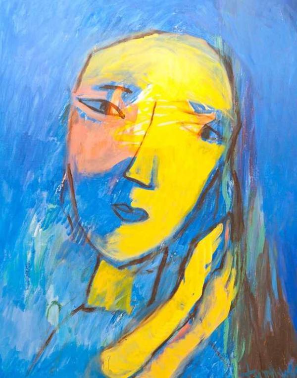 ЕЛЕНА ФИГУРИНА Портрет. 2001