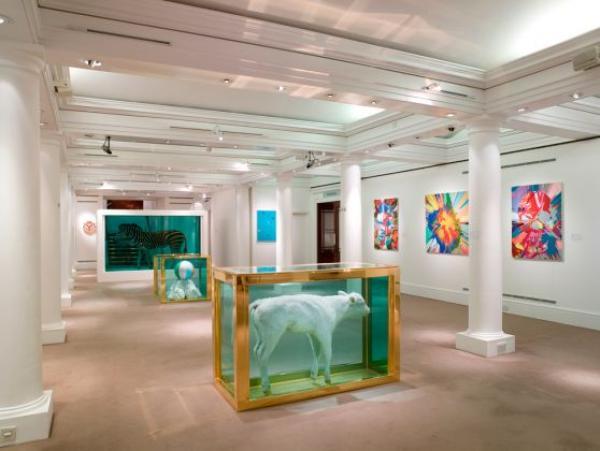 Предаукционная выставка Дэмиэна Херста 5–15 сентября 2008. Sotheby's, Лондон