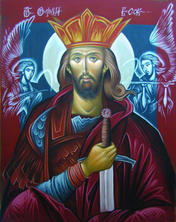 ДЕЯН МАНДЕЛЦ Святой Стефан Высокий, деспот Сербский. 2012