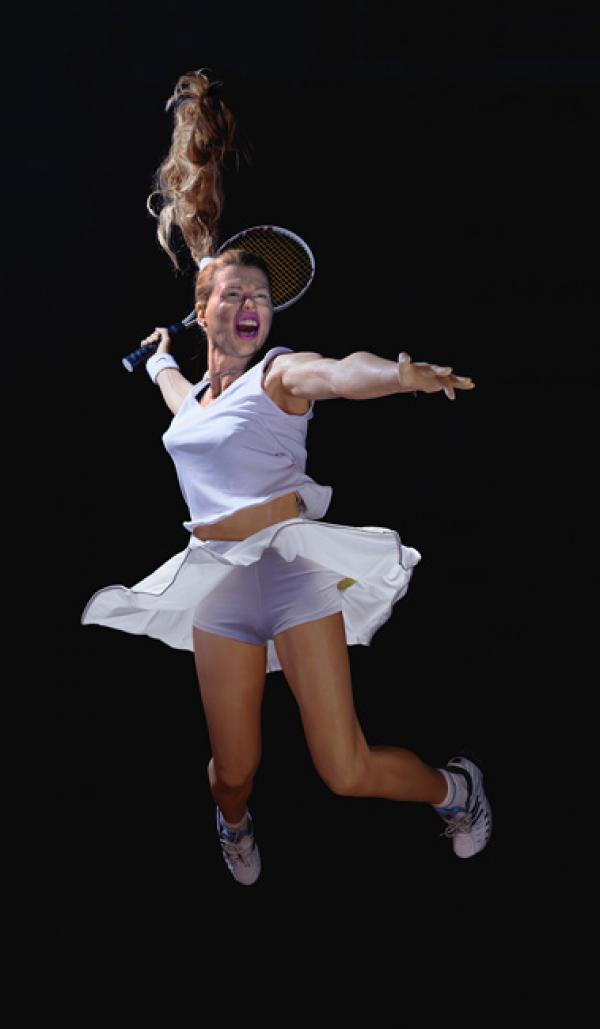 ОЛЕГ КУЛИК Теннисистка. 2002