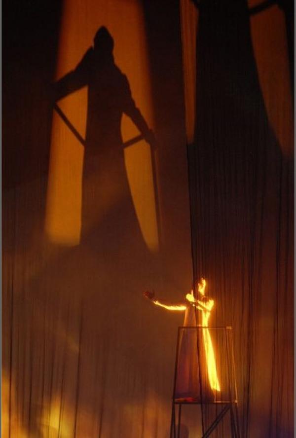 Опера «Вечерня Девы Марии». Театр «Шатле», Париж, 2009