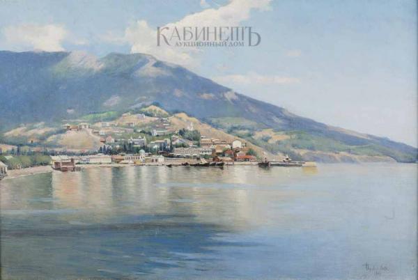 ЧЕРНЯВСКИЙ А.Г. Ялта. 1901