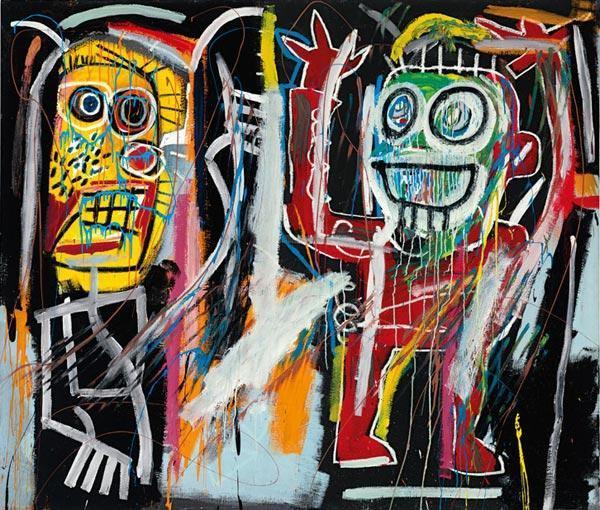 ЖАН-МИШЕЛЬ БАСКИЯ    Затуманенные головы (Dustheads). 1982