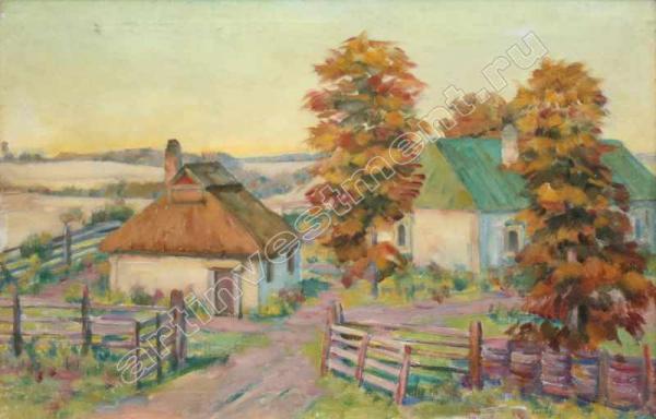 К.Ф.ЮОН Украинский пейзаж. 1930-40-е