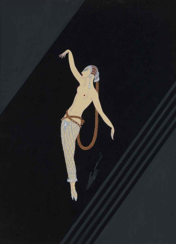 ЭРТЕ Алмазная танцовщица. 1927