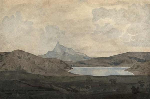 МАКСИМИЛИАН ВОЛОШИН Серебристый пейзаж. 1928